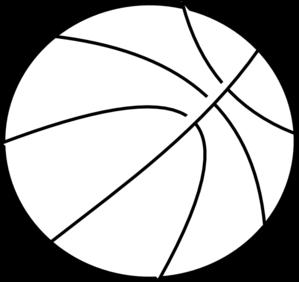 Basketball Outline Clip Art & Basketball Outline Clip Art Clip Art.