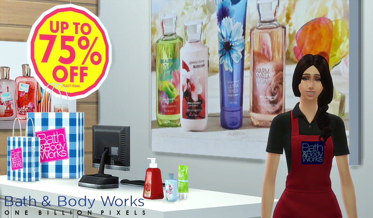 Bath Body Works Clipart.