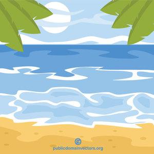 400 beach free clipart.