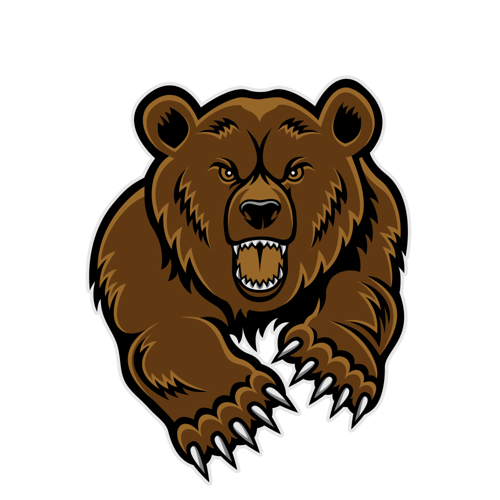 Bears clipart mascot, Bears mascot Transparent FREE for.