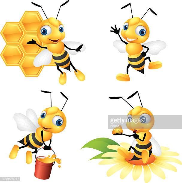 60 Top Honey Bee Stock Illustrations, Clip art, Cartoons, & Icons.