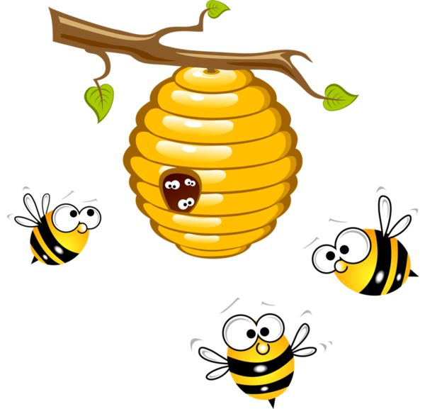 Bumble bee honey bees abeilles clip art images on.