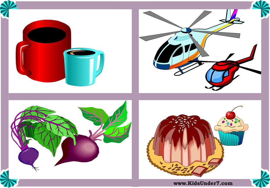 Big and small objects clipart » Clipart Station.