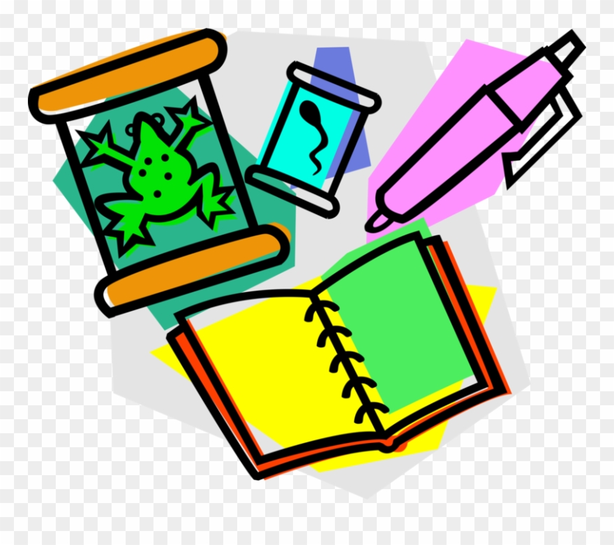 Vector Illustration Of Science Biology Education In.