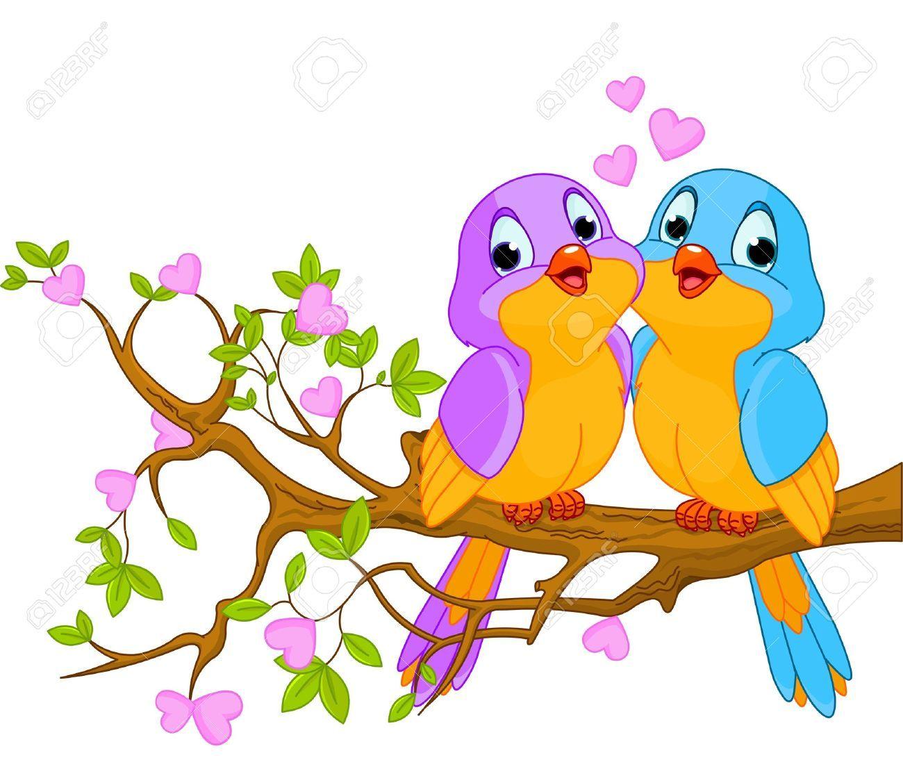 Love birds free clipart 4 » Clipart Portal.