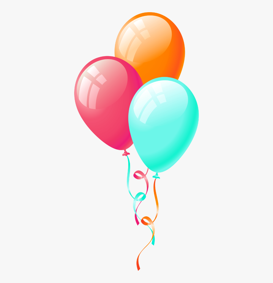 Birthday Balloons Clip Art , Transparent Cartoon, Free.