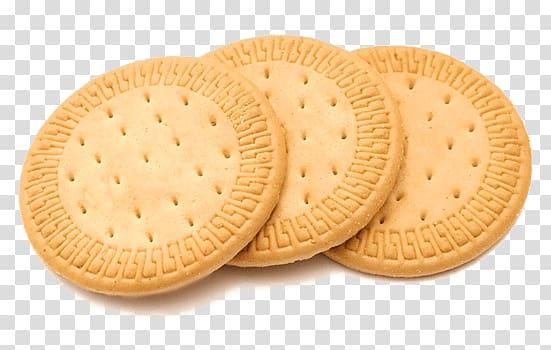 Three brown biscuits, Biscuit Round transparent background.