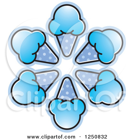 clipart of blue waffles #10