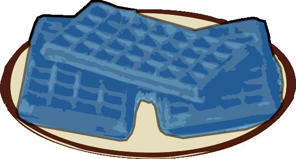 Waffle Blue Clip Art at Clker.com.