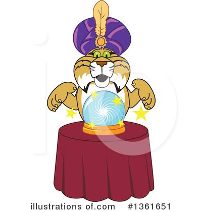 Bobcat School Mascot Clipart #1361651.