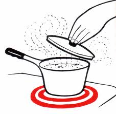Boiling Water Clipart.