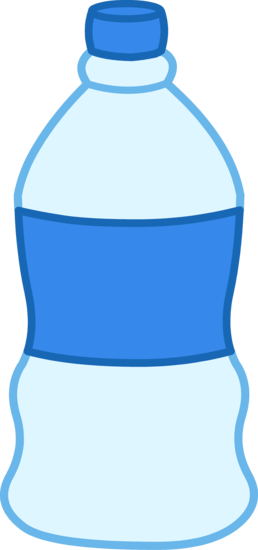 Bottled Water Clipart Design.