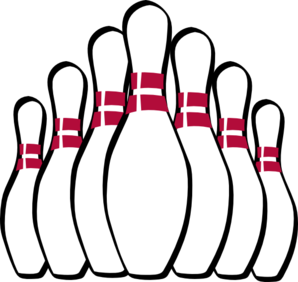 524 Bowling Pin free clipart.
