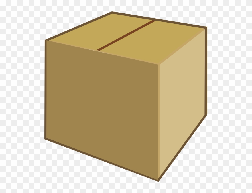 Clipart Of Box, Chest And Box And.