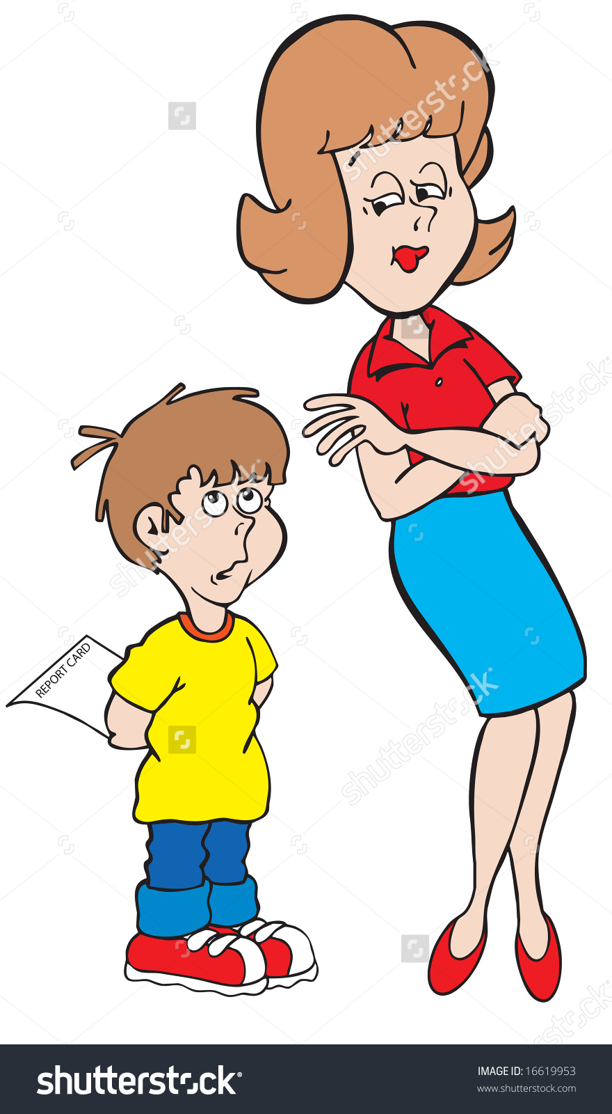 Showing post & media for Cartoon boy and his mom.