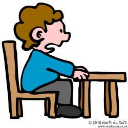 Similiar Student Sitting Properly In Chair Clip Art Keywords.