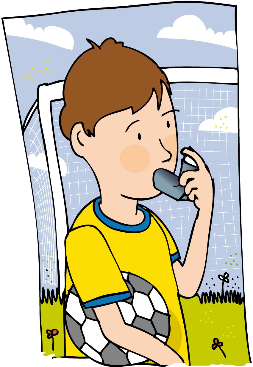 Showing post & media for Boy asthma cartoon.