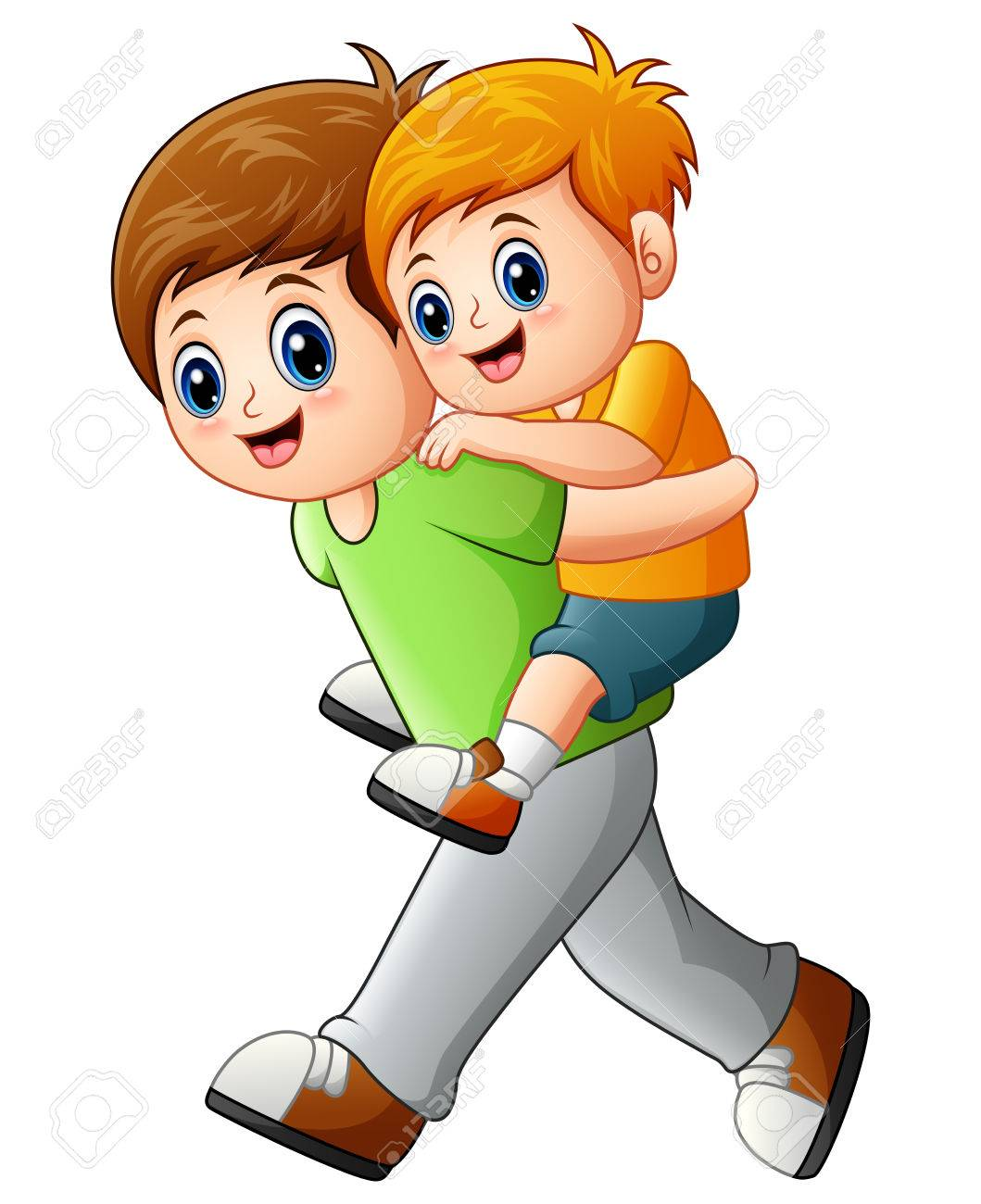 Little brother clipart 2 » Clipart Station.