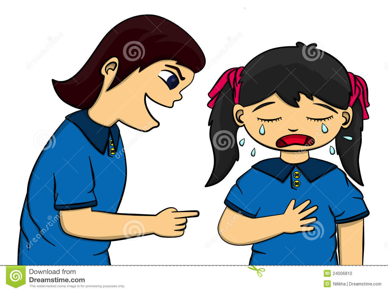 Clipart About Bullying.