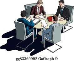 Business Meeting Clip Art.