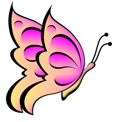 251 free butterfly vector clip art.