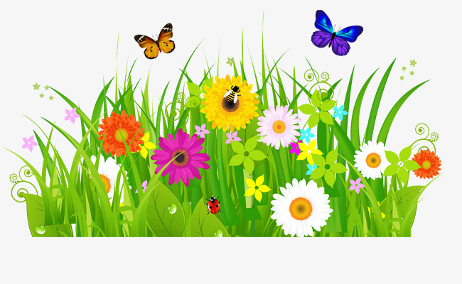 Clipart Of Flowers And Butterflies at GetDrawings.com.