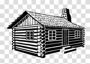 Cabins transparent background PNG clipart.