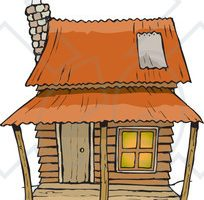 Clipart cabins 1 » Clipart Station.