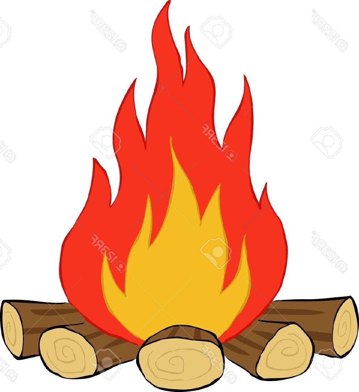 Best Free Camp Fire Clipart Log Images.