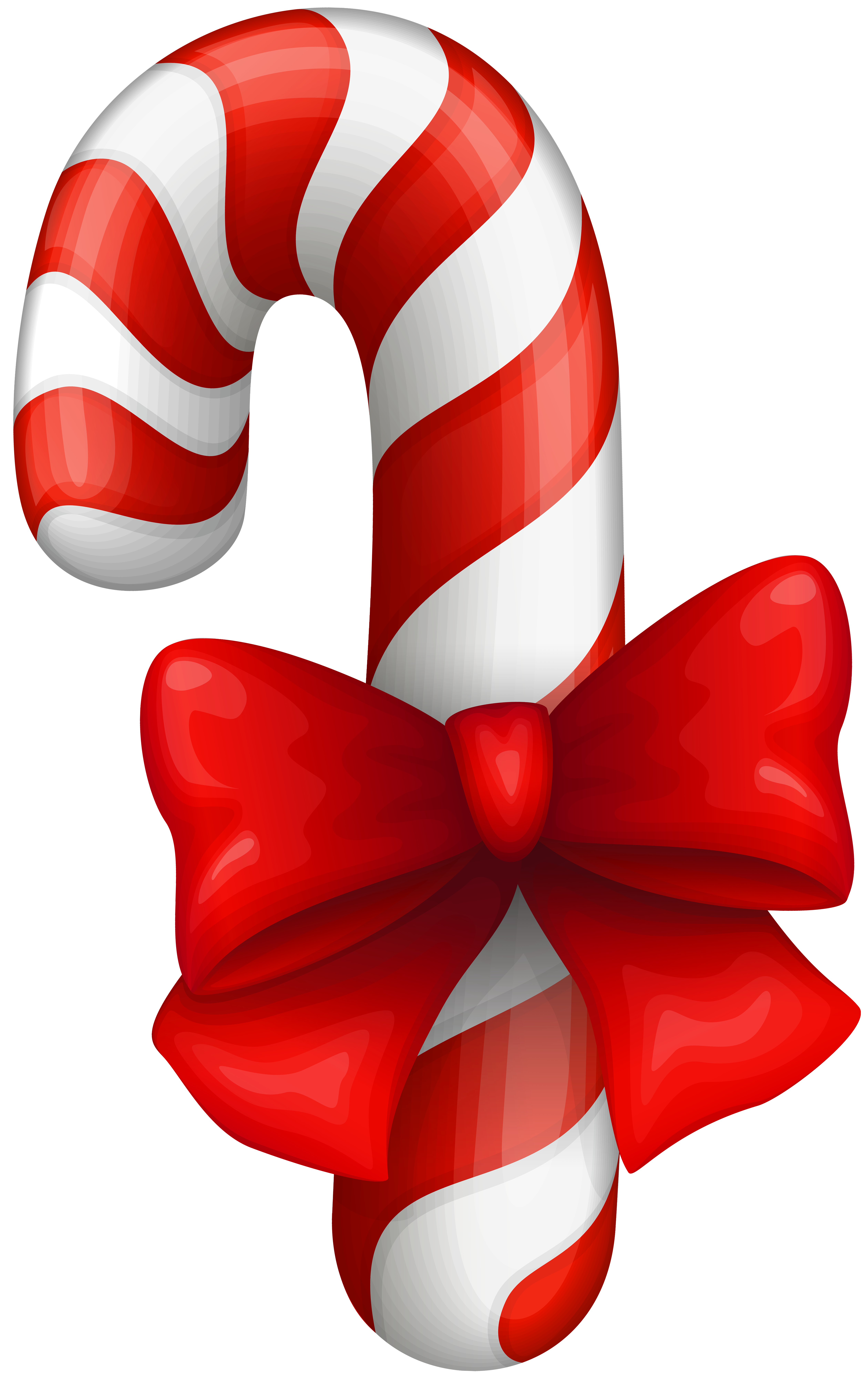 Candy Cane PNG Clip Art Image.
