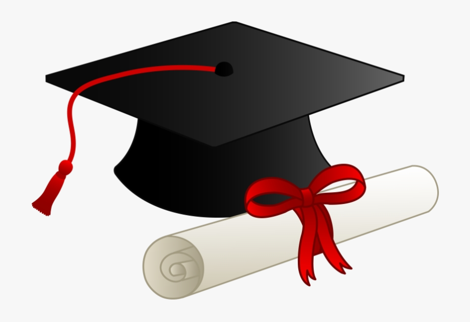 High School Cap And Gown Graduation Clipart Free Transparent.
