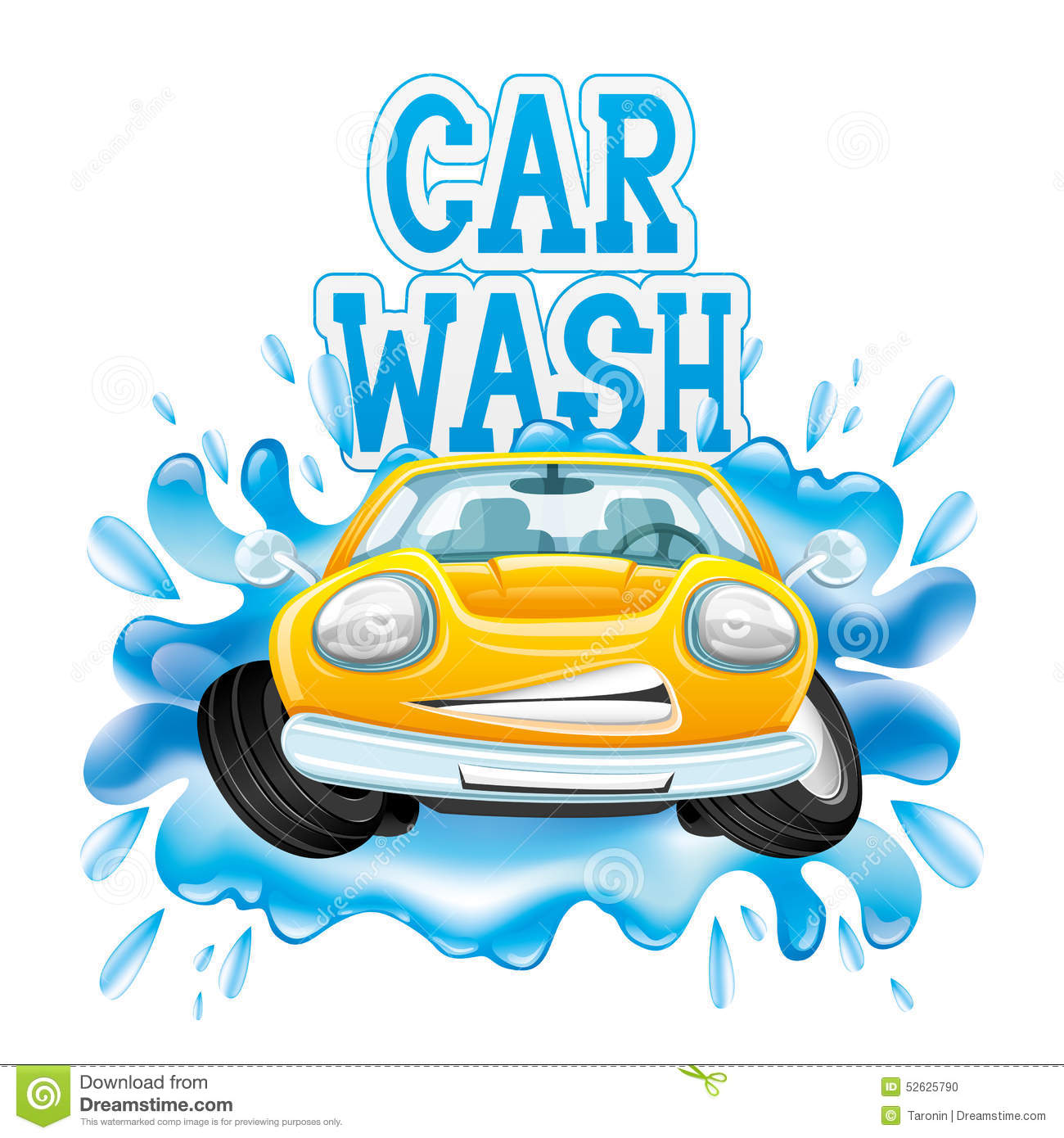 Clipart of car wash clipground for Clean car pictures