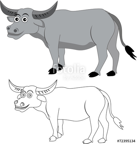 Carabao clipart 10 » Clipart Station.