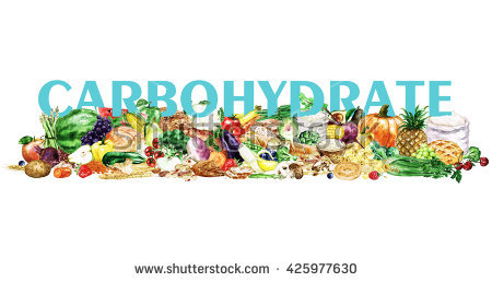 Watercolor Food Clipart Healthy Balanced Nutrition Stock.
