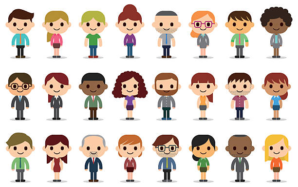 Cartoon people clipart 2 » Clipart Station.