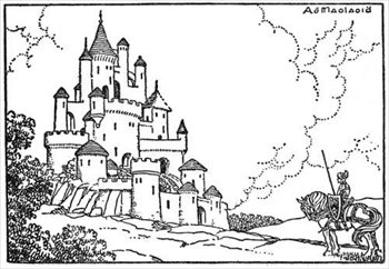 clipart of castles #2