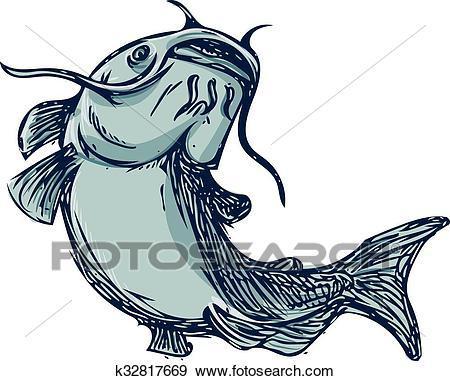 Clipart catfish 5 » Clipart Portal.