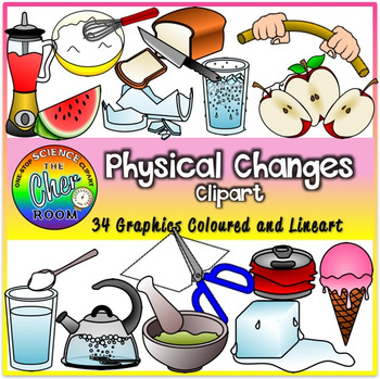 Physical Changes Clipart.