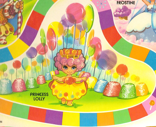 Candy Land Characters Clip Art.