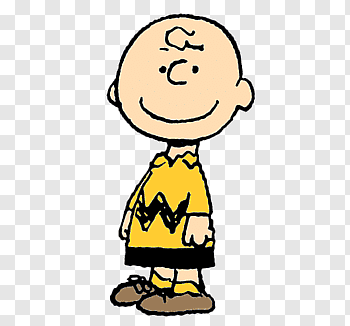 Charlie Brown cutout PNG & clipart images.