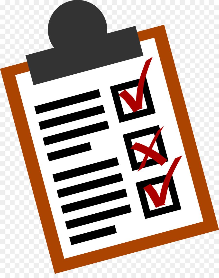 Checklist Clipart clipart.