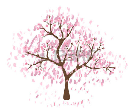 10,221 Cherry Blossom Tree Stock Illustrations, Cliparts And.