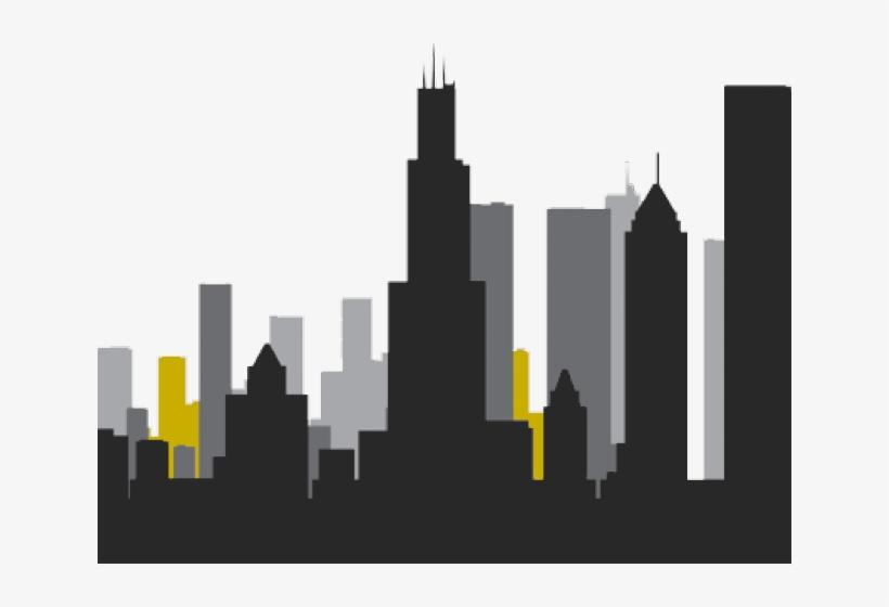 Chicago Clipart Chicago Skyline.