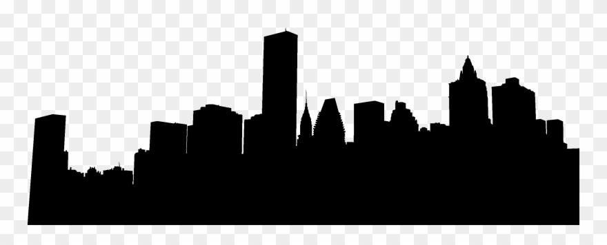 Chicago Skyline Red Reflection Clipart Png.