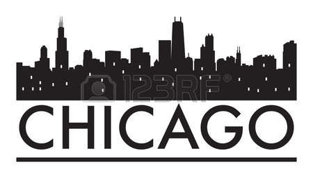 Chicago Word Clipart.