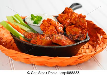 clipart of chicken wings #3