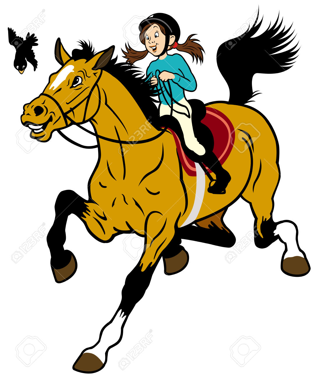 5,415 Horse Rider Stock Vector Illustration And Royalty Free Horse.