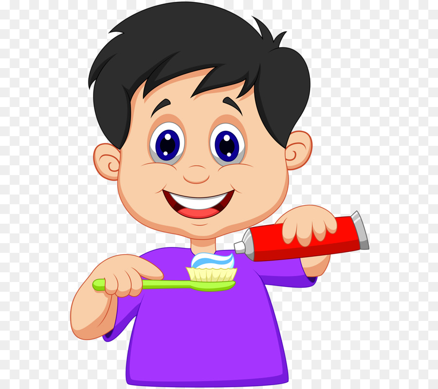 Download Free png Tooth brushing Teeth cleaning Clip art Children.