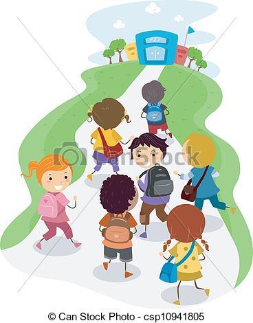 School children Illustrations and Clipart. 62,987 School children.