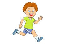 Clipart Child Runner.
